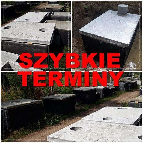 SZAMBO 8m wodoszczelne izolowane b25 W8 zbiornik Łąck Gozdowo Bielsk