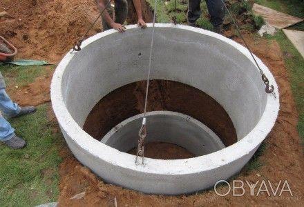 Кольца бетонные продажа,доставка,монтаж.