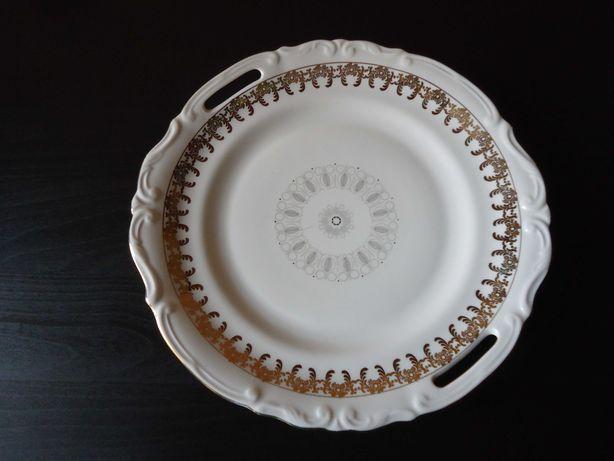 Stara Patera Taca Owocarka Porcelana
