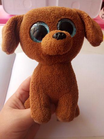 Мягкая игрушка глазастик собачка