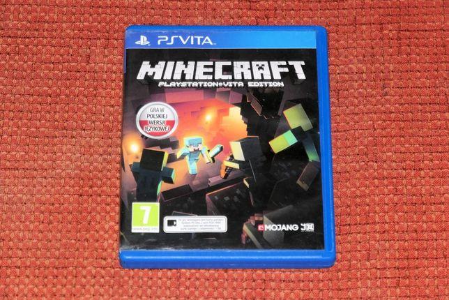 Minecraft po polsku- Playstation Vita - PS Vita