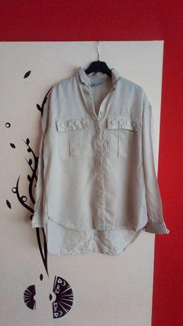 koszula h&m asymetryczna nowa r 38