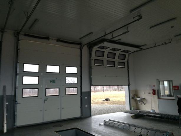 Brama segmentowa garażowa przemysłowa bramy garażowe MIELEC
