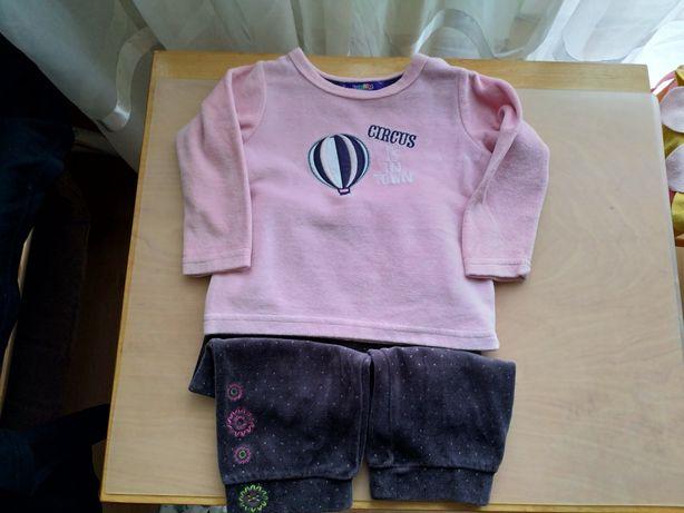 Bluza i spodnie welurowe 86