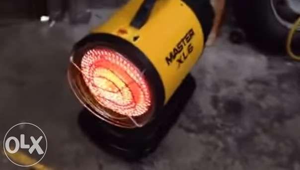 Aquecedor diesel por radiação ir portátil master xl6