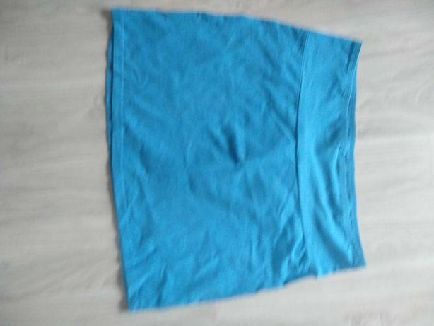 Spódnica niebieska mini
