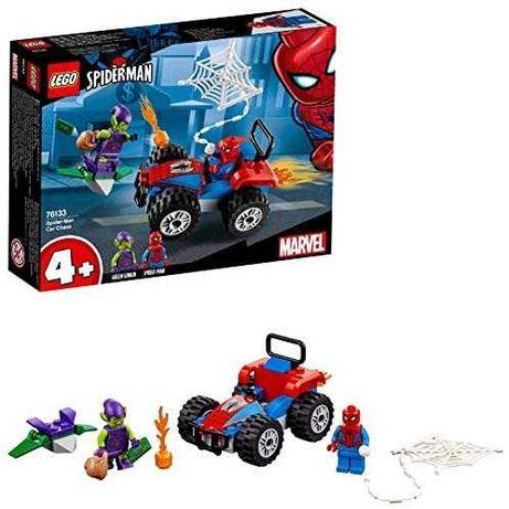 LEGO Pościg samochodowy Spider-Mana 76133