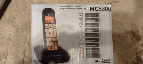 Sprzedam Bezprzewodowy telefon stacjonarny dla seniora MaxCom MC68