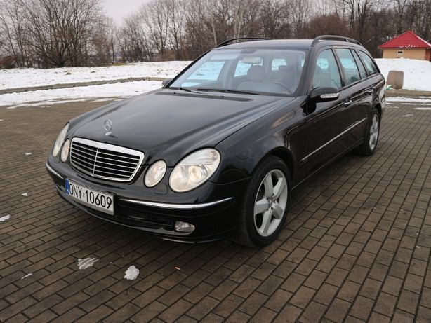 Mercedes E Klasa W211 Avantgarde, Zadbany