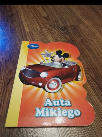 Książeczka Auta Mikiego Disney