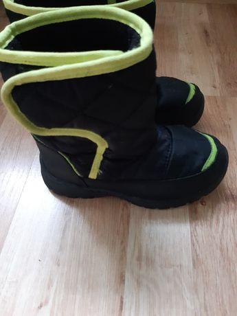 Buty zimowe, Śniegowce chłopięce F&F