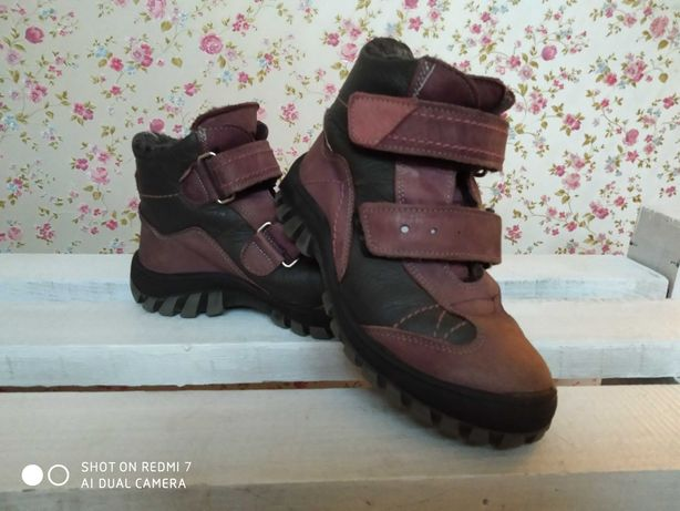 Зимние ботинки 300 р