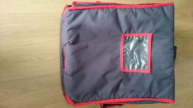 Plecak termiczny na pizzę - 4 pudłka 50x50 cm | FURMIS Plecak T4L/N