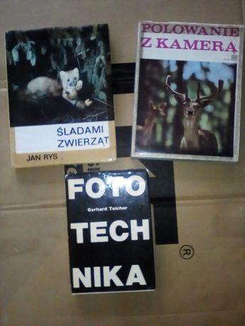 Fotografia Fototechnika zestaw 3 książek