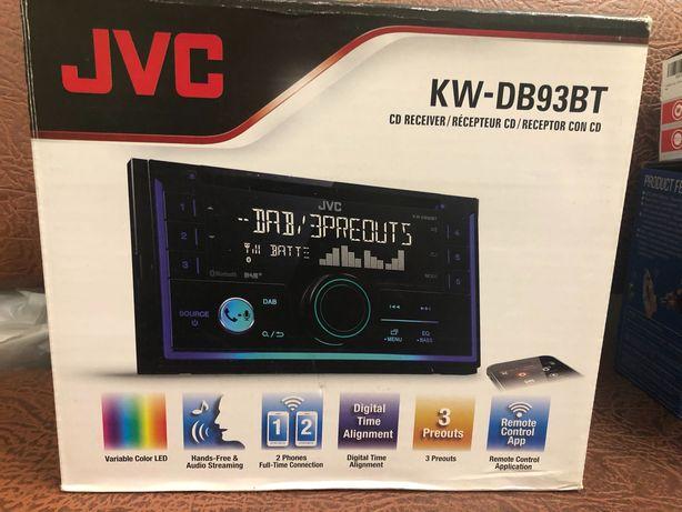 Автомагнитола JVC KW-DB93BT