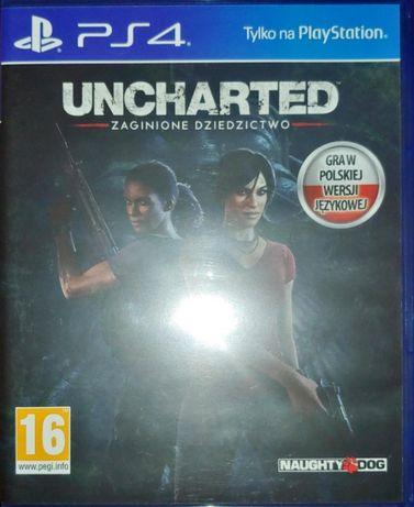 Gra PS4 Uncharted: Zaginione Dziedzictwo PL