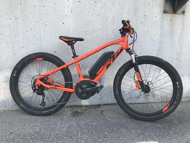 Bicicleta eBike KTM MINI ME, roda 24