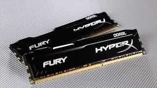 Pamięć ram Kingston HyperX Fury Black DDR3L 2x8 GB/16GB/Nowe Zaplomb.