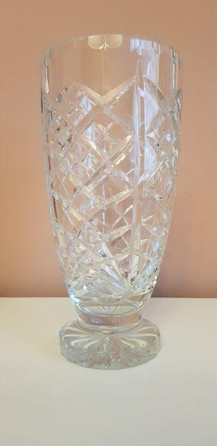 Kryształowy wazon wys 25/12+Książka kucharska GRATIS
