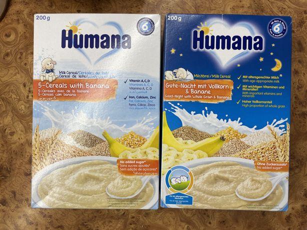 Humana молочная каша 5 злаков вечерняя каша