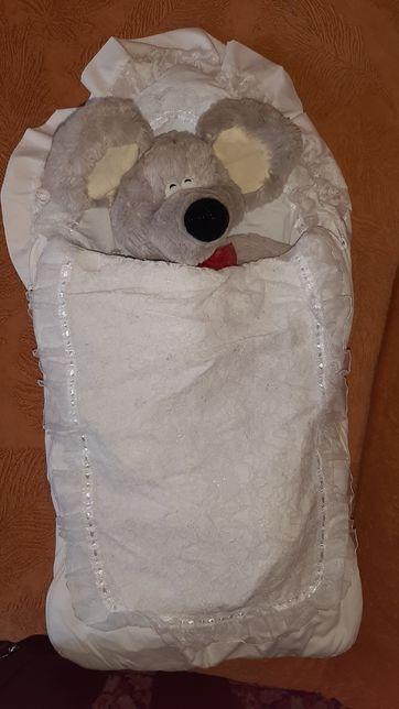 Конверт на виписку ковдра одеяло выписку с рождения