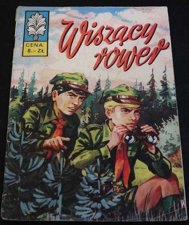 Komiks : Kapitan Żbik - Wiszący rower 1973