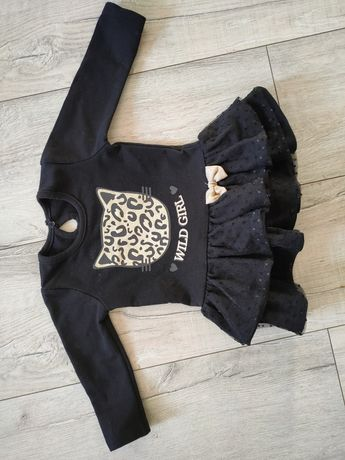 Sukienka  czarna 74 produkt polski