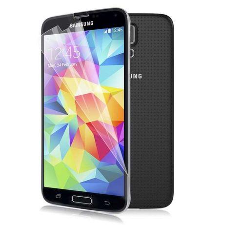 L042 3x Película Anti-dedada Samsung Galaxy S5 I9600 Novo! ^A