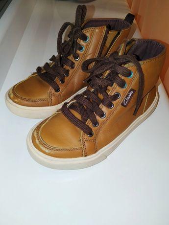 Полуботинки хайтопы кроссовки 28 29 18 см Clarks Ecco Geox Zara Next