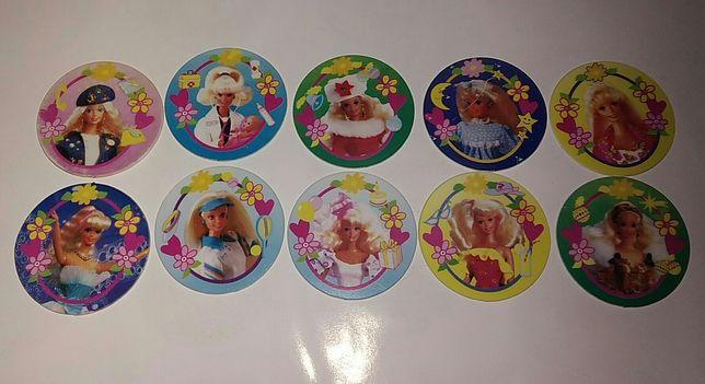 Coleção completa barbie tazos da matutano