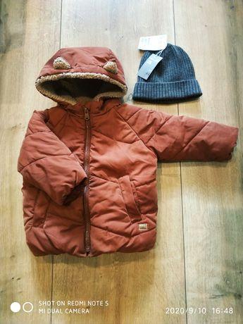 Kurtka zimowa Zara r.80