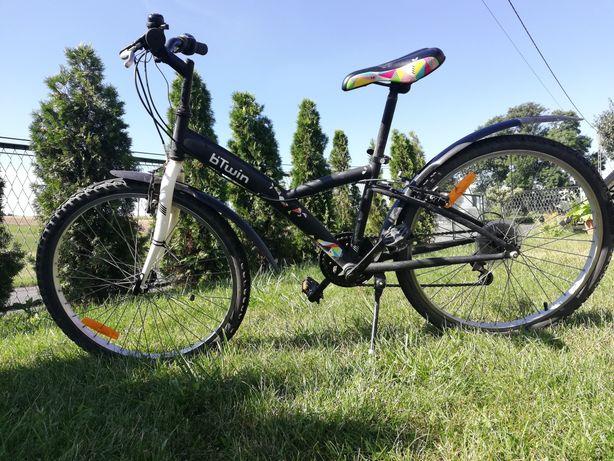 Rower  24'' czarny