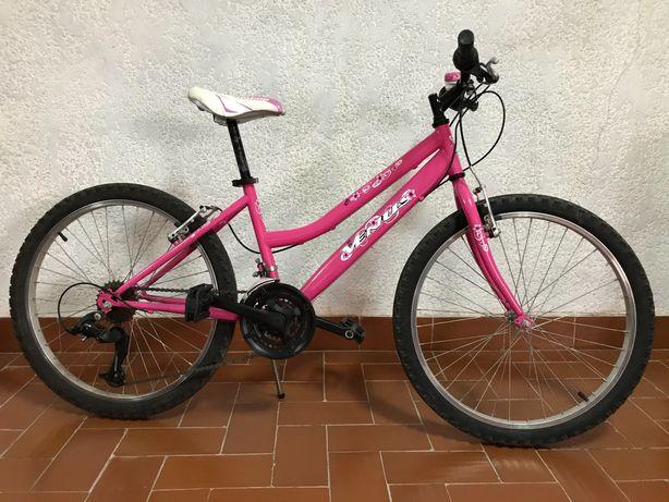 Bicicleta menina 24