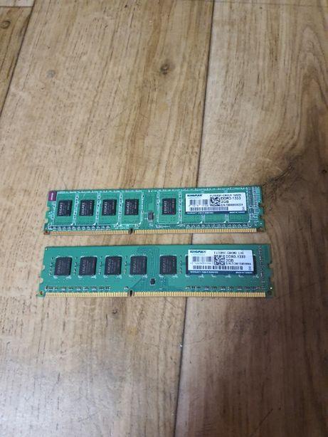 Оперативную память DDR3 2Gb (две планки) в отличном состоянии.