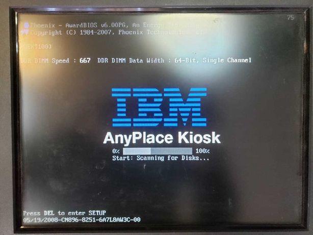 """POS-терминал 15"""" IBM AnyPlace 4838-330 сенсорный, сканер штрих-кода"""