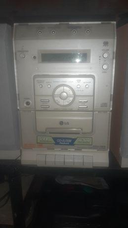 Aparelhagem radio cassete/cd