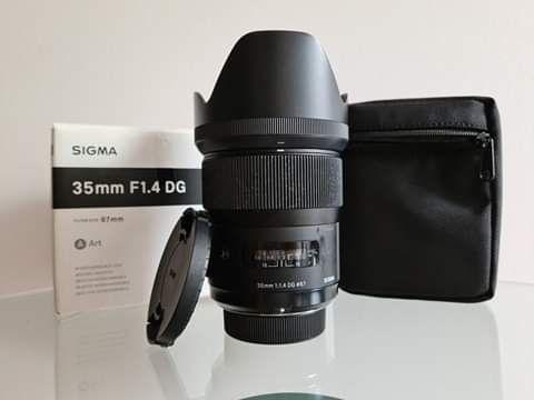 Sigma ART 35mm 1.4 NIKON