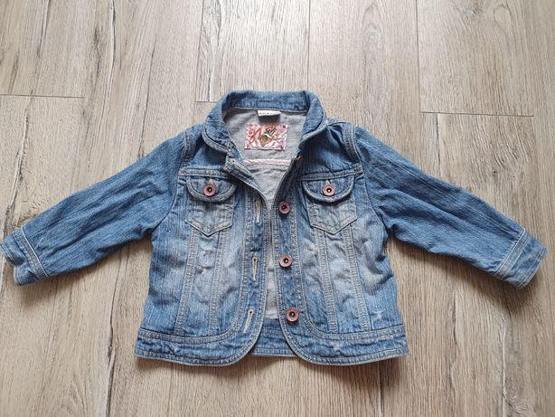 NEXT Kurtka dziecięca jeansowa 86 cm