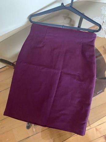 Юбка, юбка с высокой посадкой, юбка по фигуре, бандажная юбка