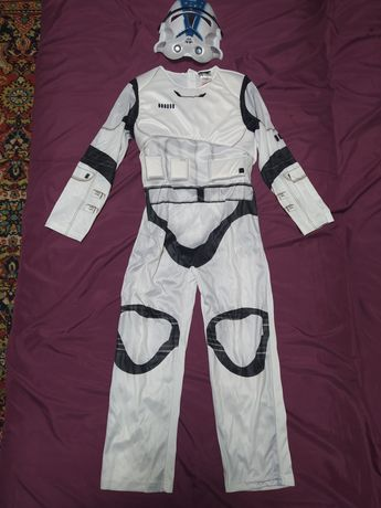 Карнавальный костюм воин штурмовик star wars 5-6,7-8,11-12 лет