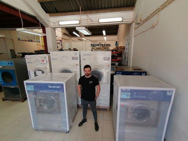 Alugamos equipamentos Self-service lavandaria