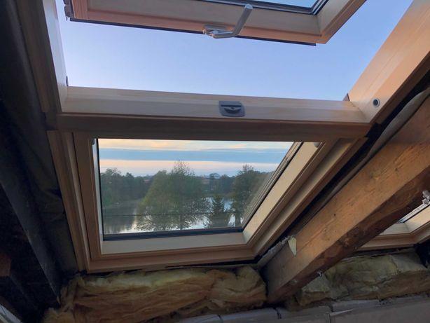 Okno dachowe Velux GIL MK34 - nieotwierany element doświetlający 78x92