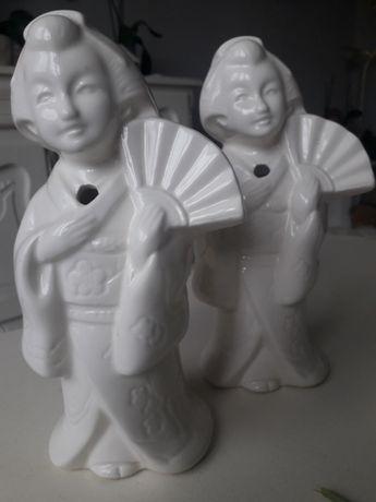 Figurki z Porcelany Japońskie