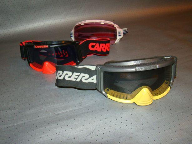 Детская Горнолыжная маска очки CARRERA от 5 до 8 лет ОРИГИНАЛ!