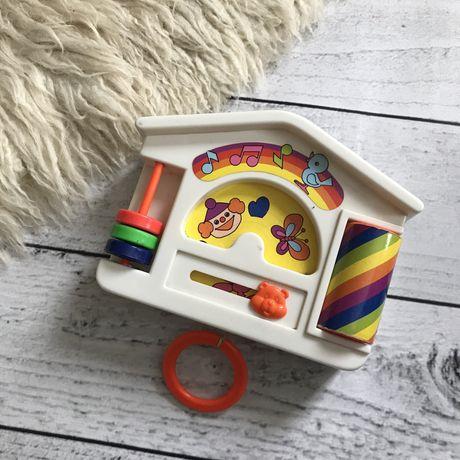 Игрушка музыкальная колыбельная механическая на стену домик погремушка