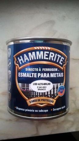 Hammerite: Esmalte para Metais - Cor Branca - SELADO