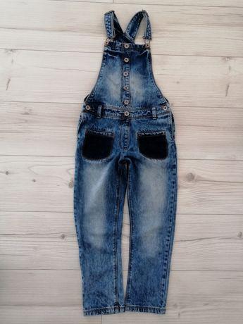 Next ogrodniczki jeans r. 128