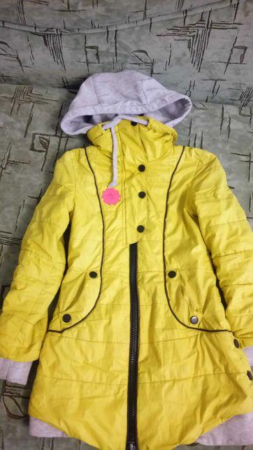 Детская куртка демисезонная на девочку 4-7 лет
