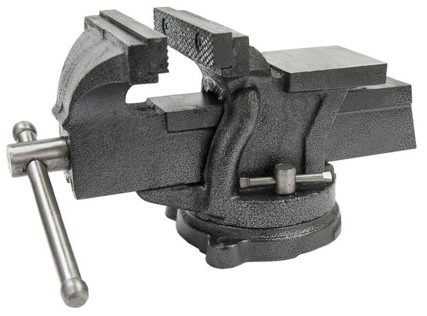 Imadło ślusarskie 125mm obrotowe kowadło solidne (IMA6)