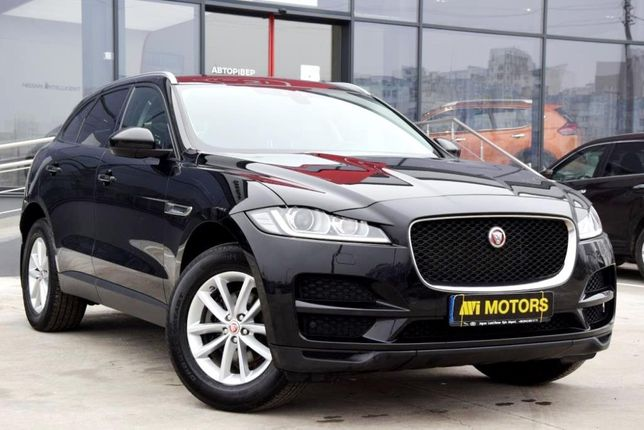 Jaguar F-Pace OFFICIAL Diesel 2018